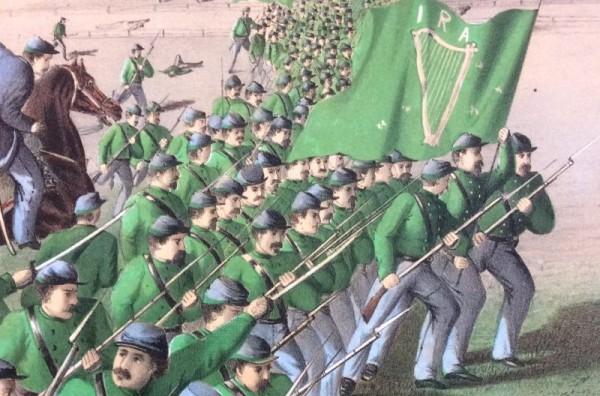 Les fenians arrivent